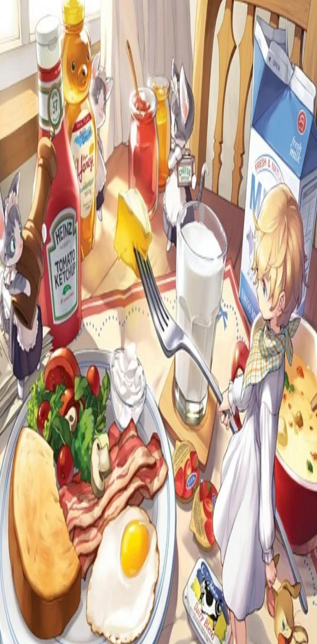 Breakfast anime