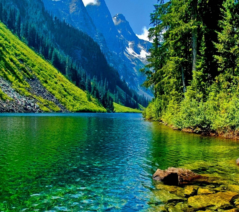 Mountains - River