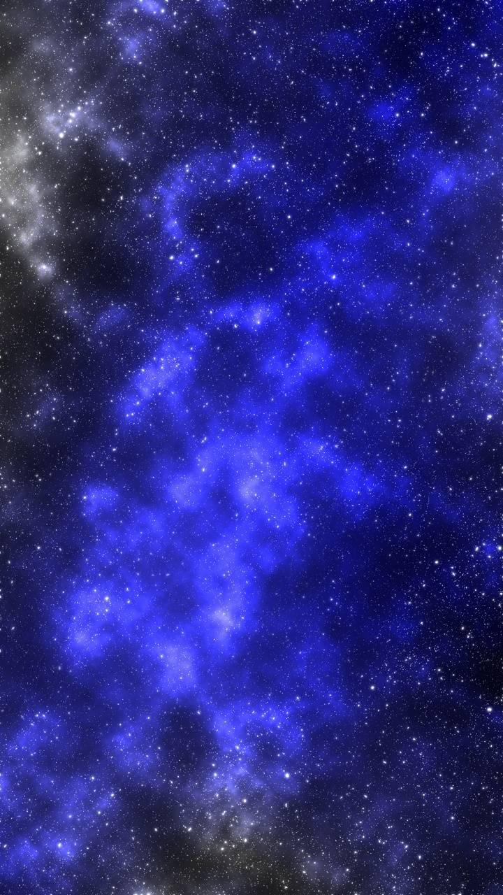Blue and Grey Galaxy