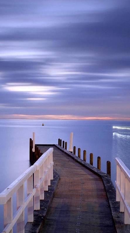 Pier to the Ocean