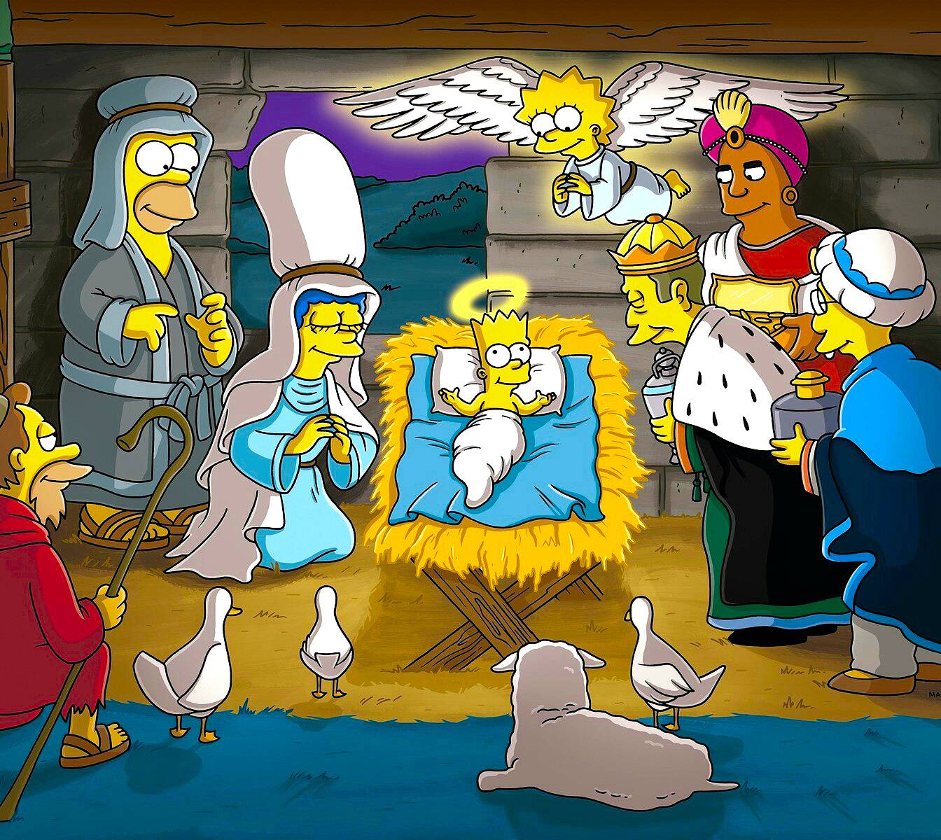 Holy Simpsons