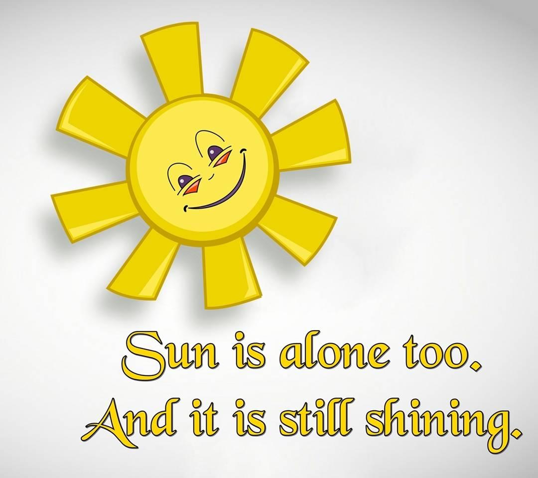 still shining