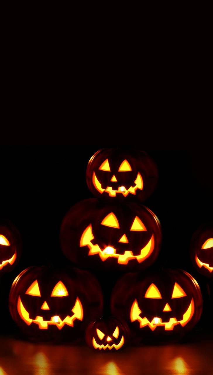 Halloweens Pumpkins