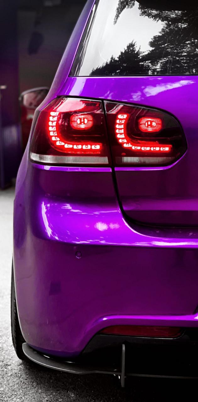 Golf mk6 R purple