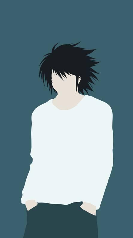 L Death Note Artwork