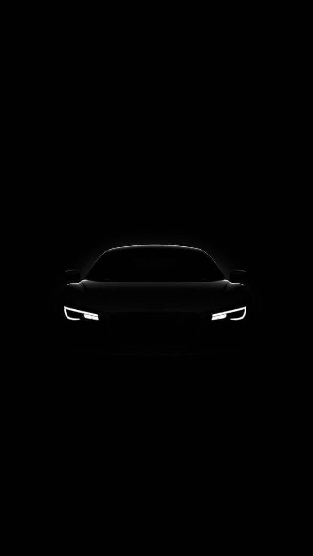 Audi Dark Headlights
