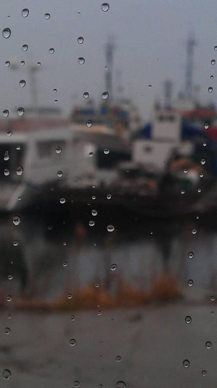 Ships On Rain