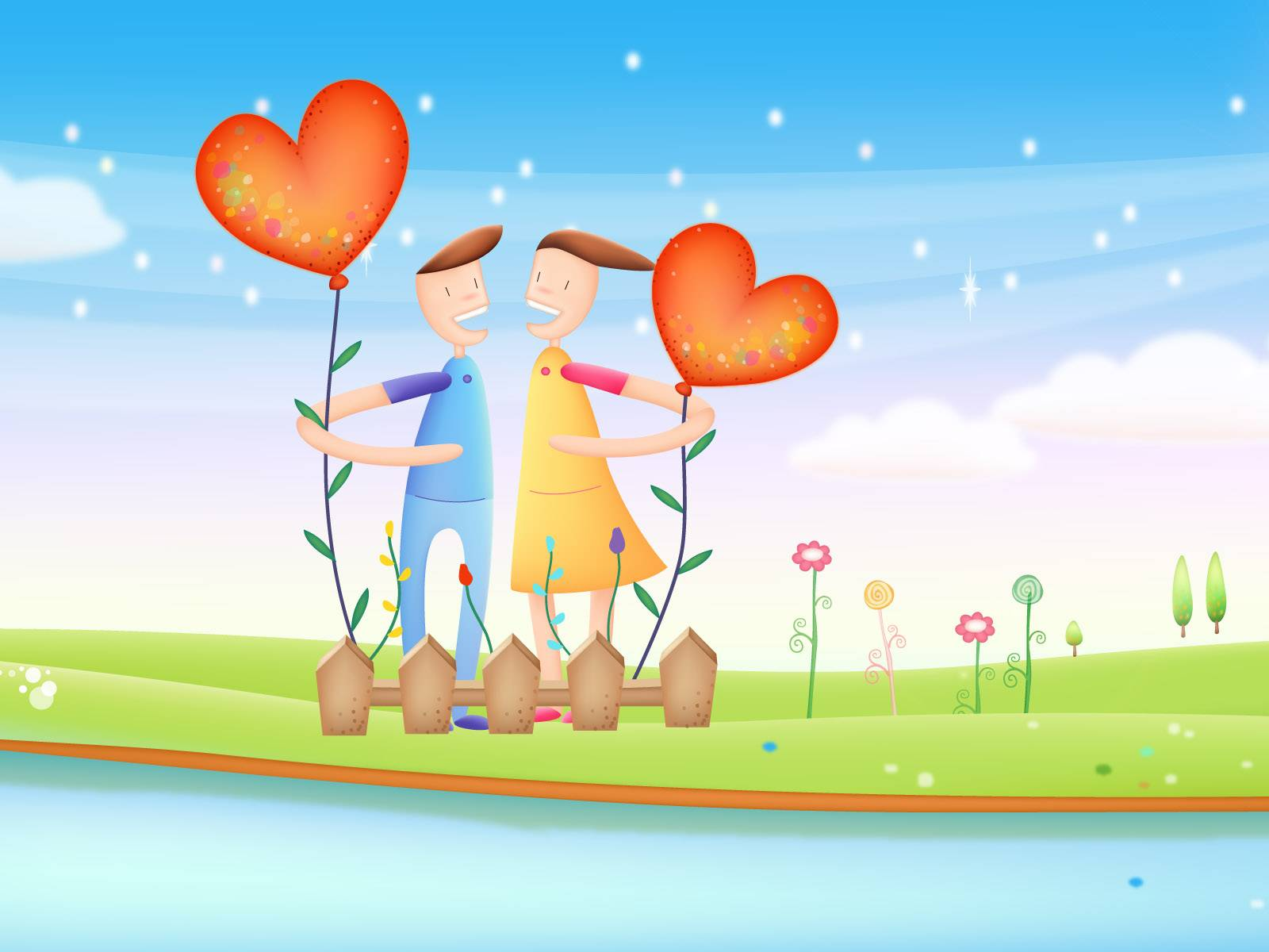 Cartoons- Love