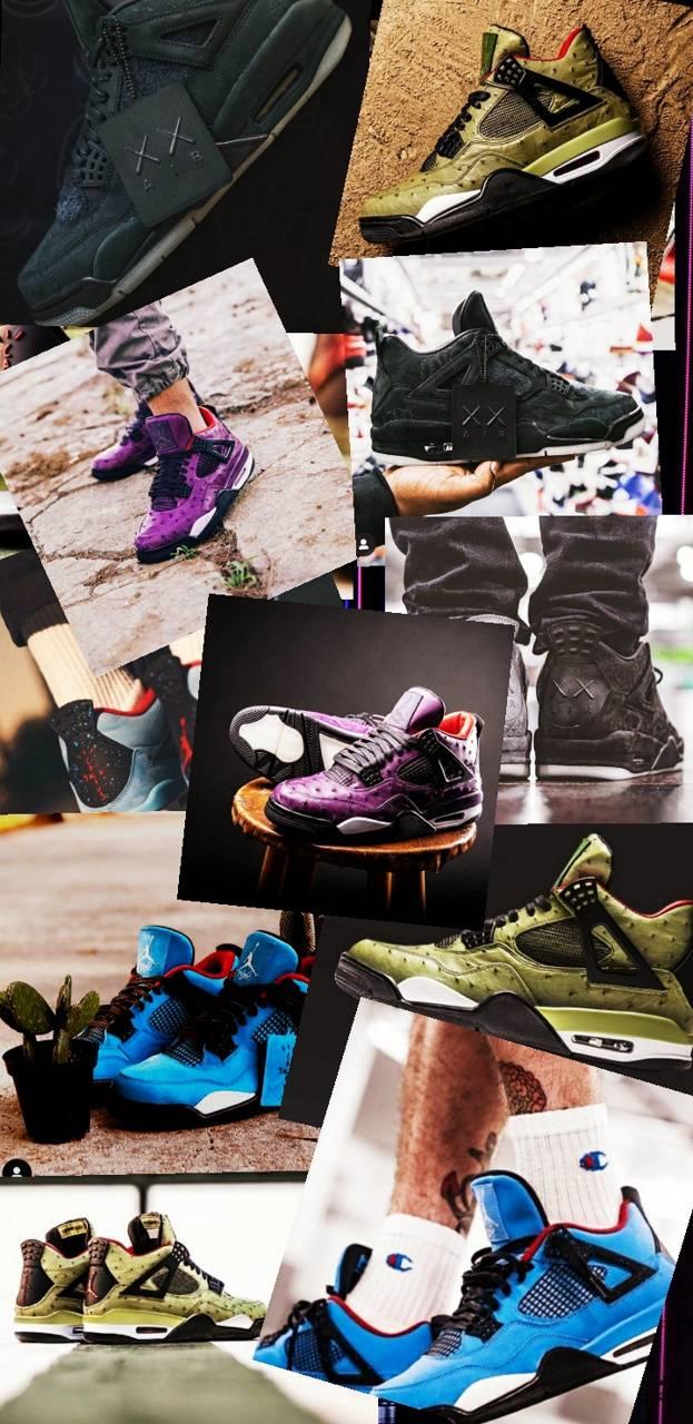 Jordan 4 Sneakers Wallpaper By Danielmasyer 3b Free On Zedge