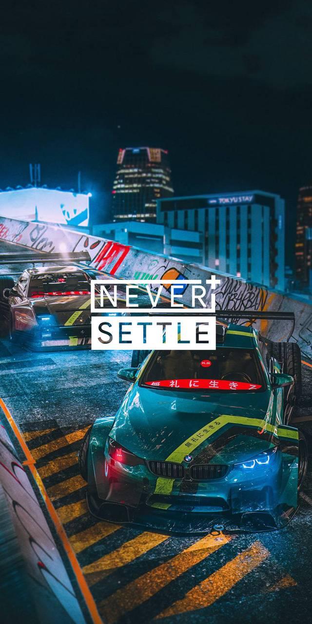 Never settle drift