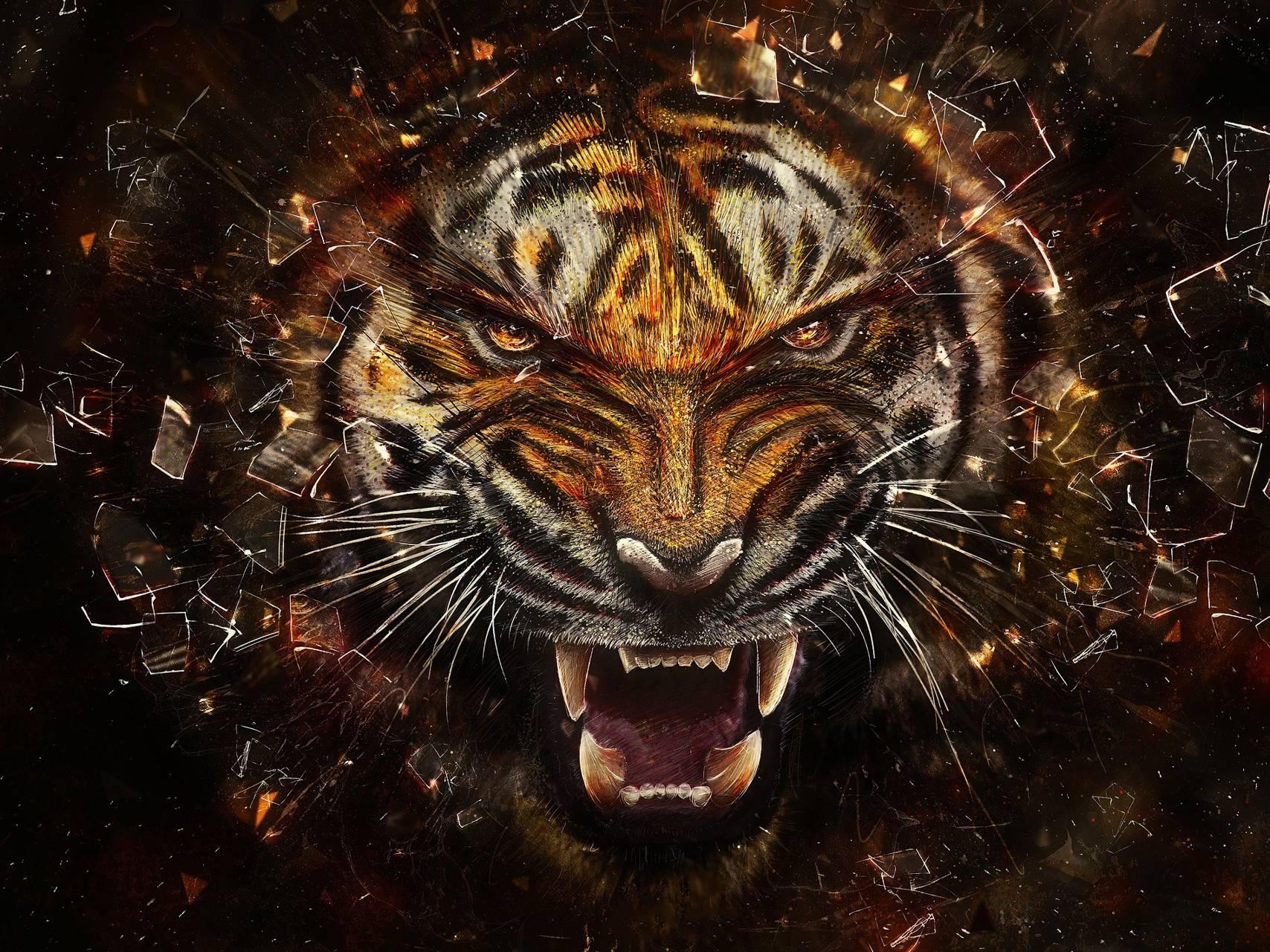Smashing Tiger