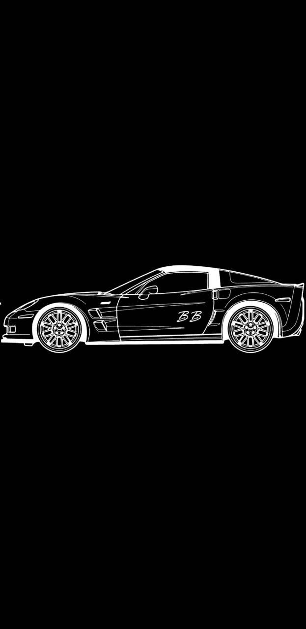Corvette DrawngS8v