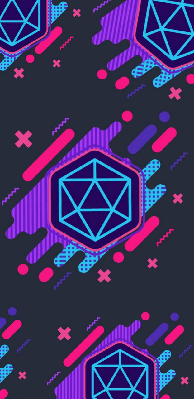 Neon Dice Wallpaper By Mommadm 87 Free On Zedge