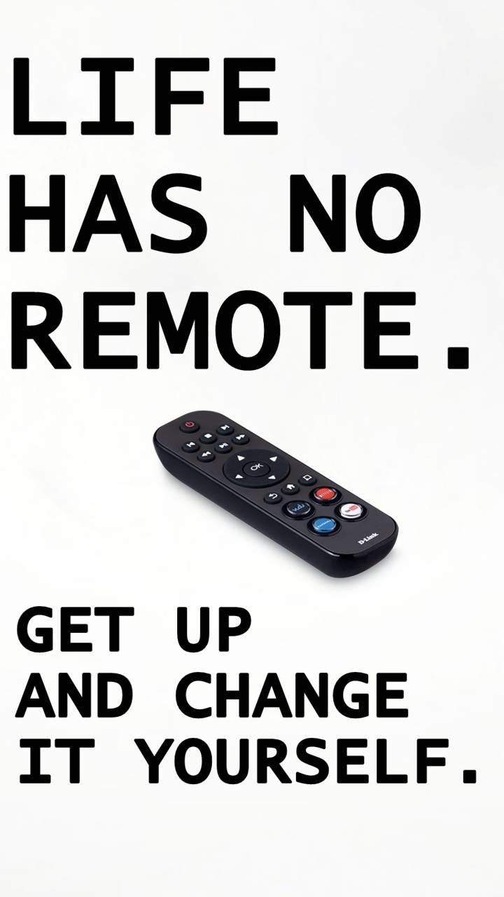 no remote