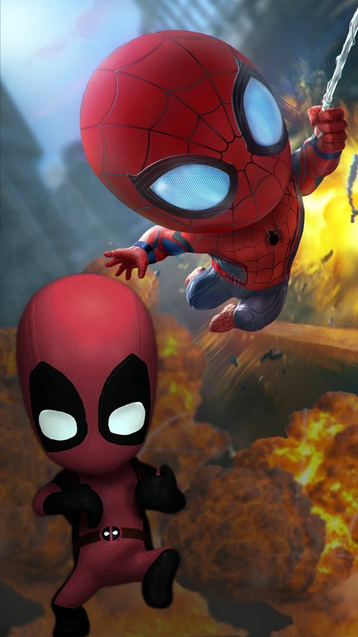 spiderman deadpool
