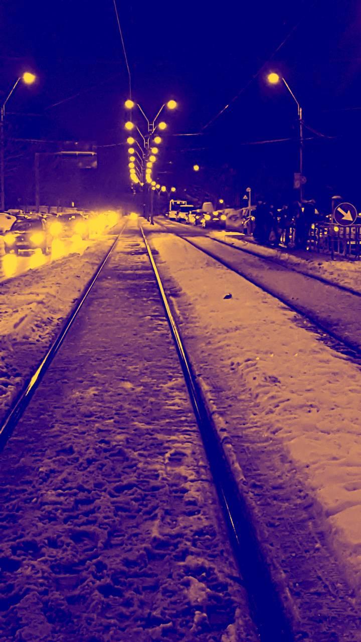 Bucharest winter
