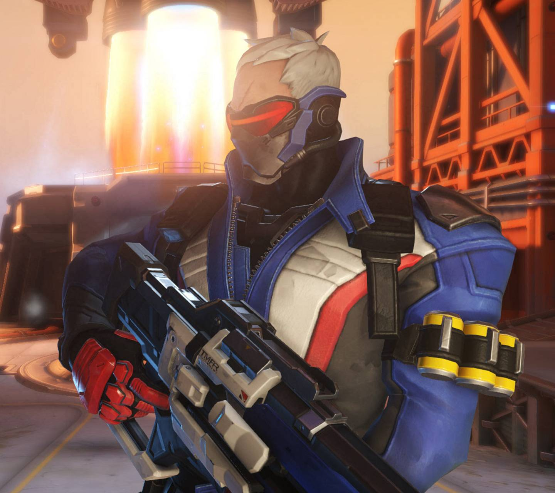 Overwatch Soldier 76 Wallpaper by enkeria - 45 - Free on ZEDGE™
