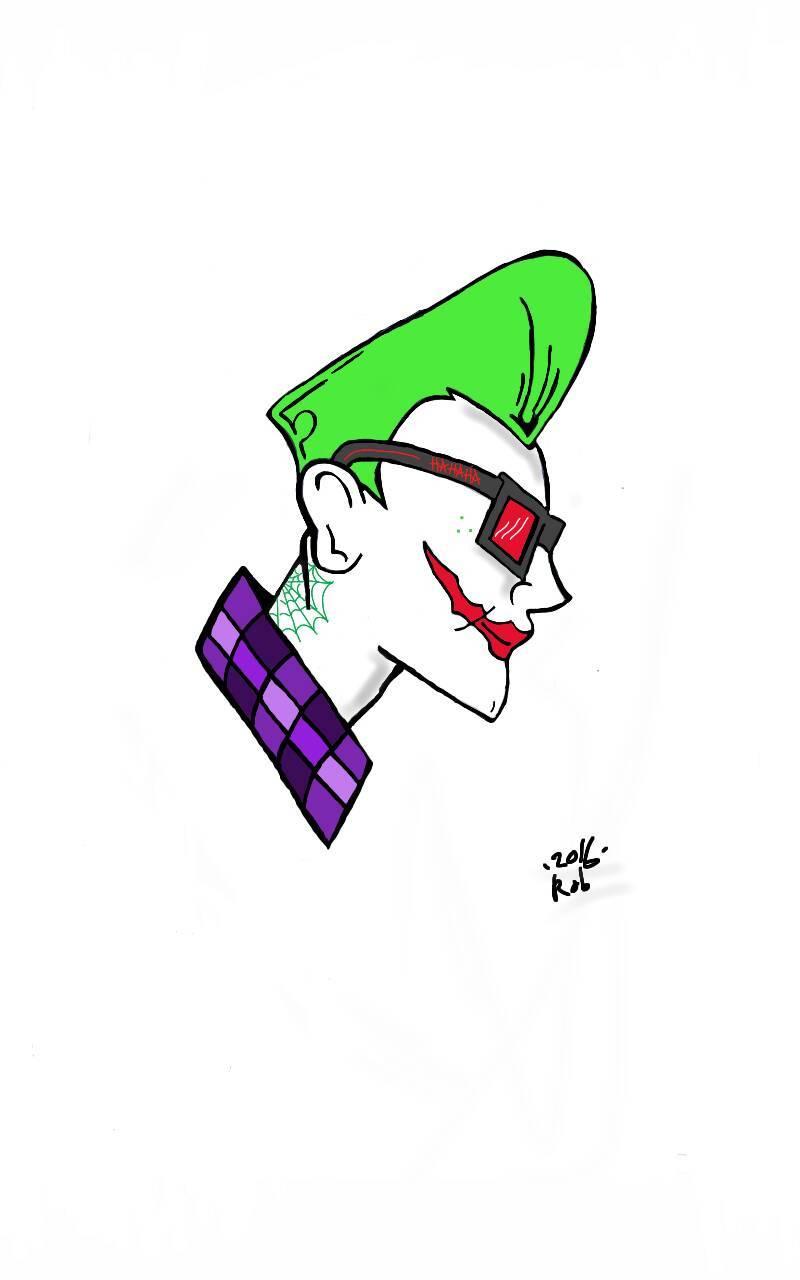 Rockabilly joker