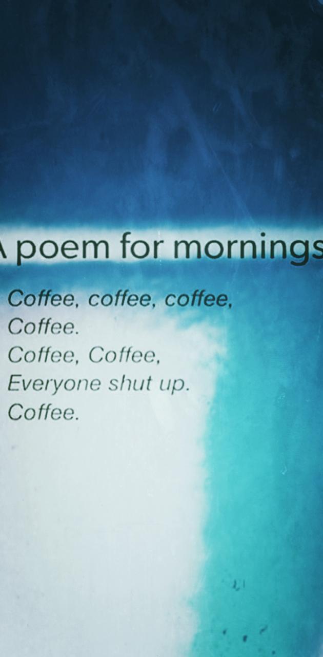 Poem for mornings