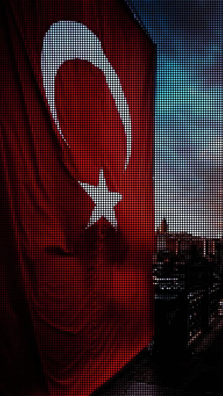 Turkish Flag pixel
