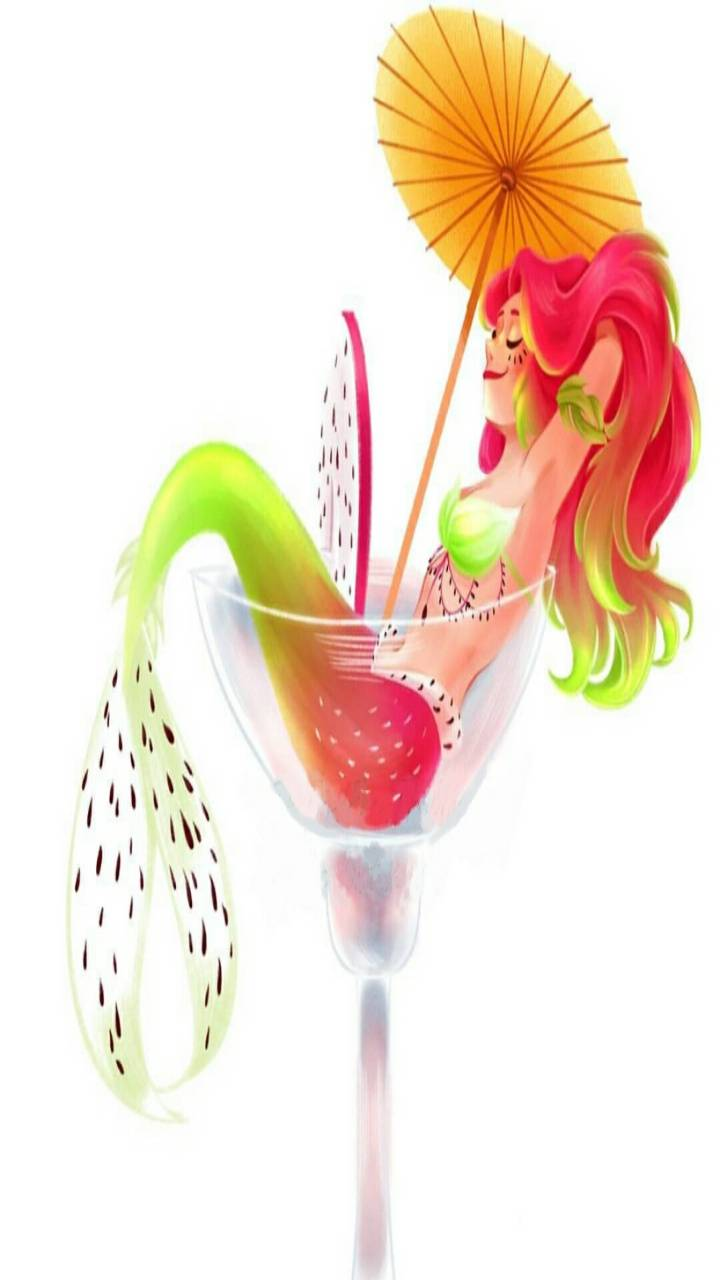Dragon Fruit Mermaid