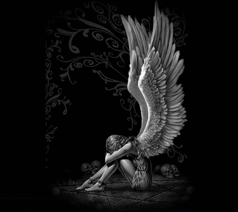 Sad angel wallpaper by konig 32 free on zedge - Free evil angel pictures ...