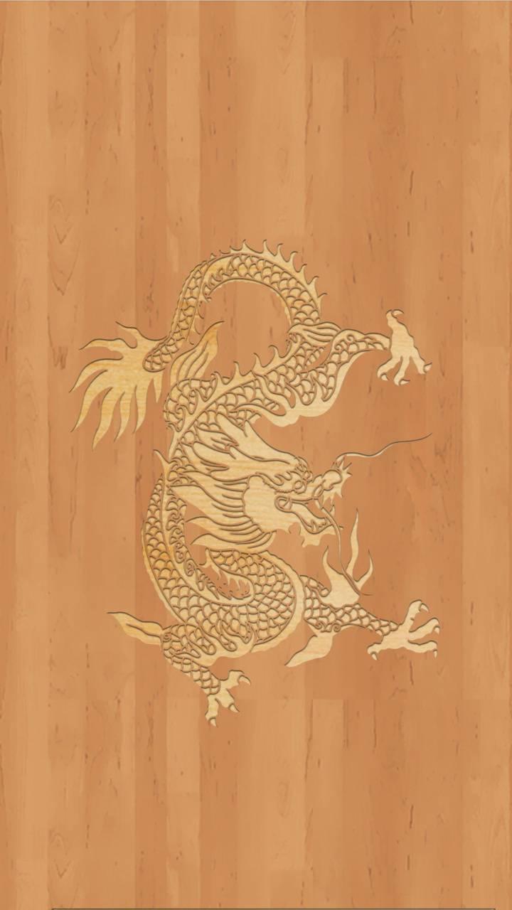 Wood dragon