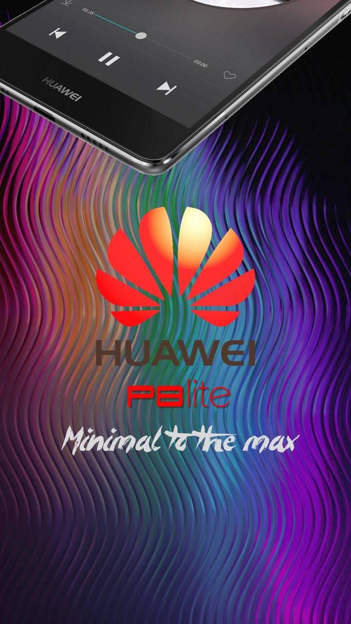 Huawei P8lite purple