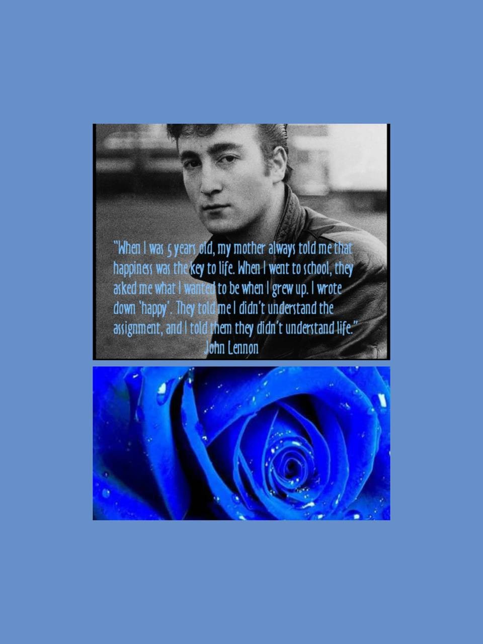 John Lennon Quote Wallpaper By Brealbready 59 Free On Zedge