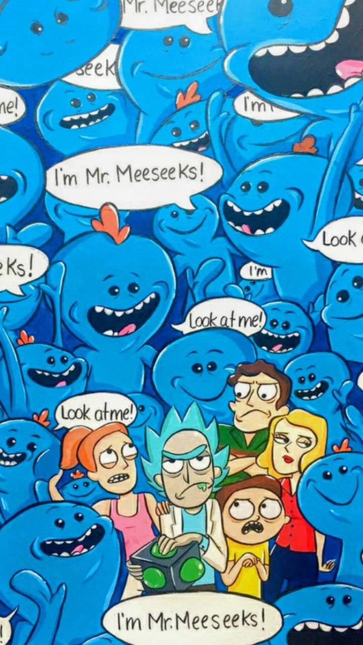 Mr Meeseeks Wallpaper By Fecklessabandon 26 Free On Zedge