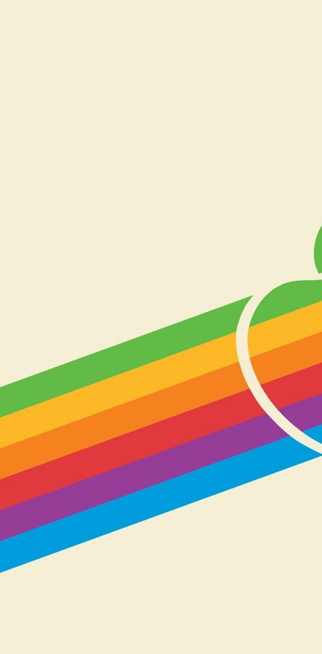 Rainbow Apple