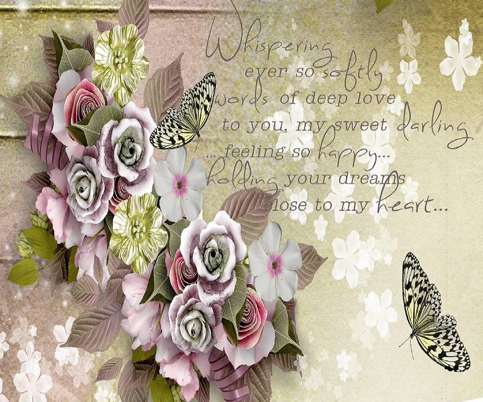 Flowers Words