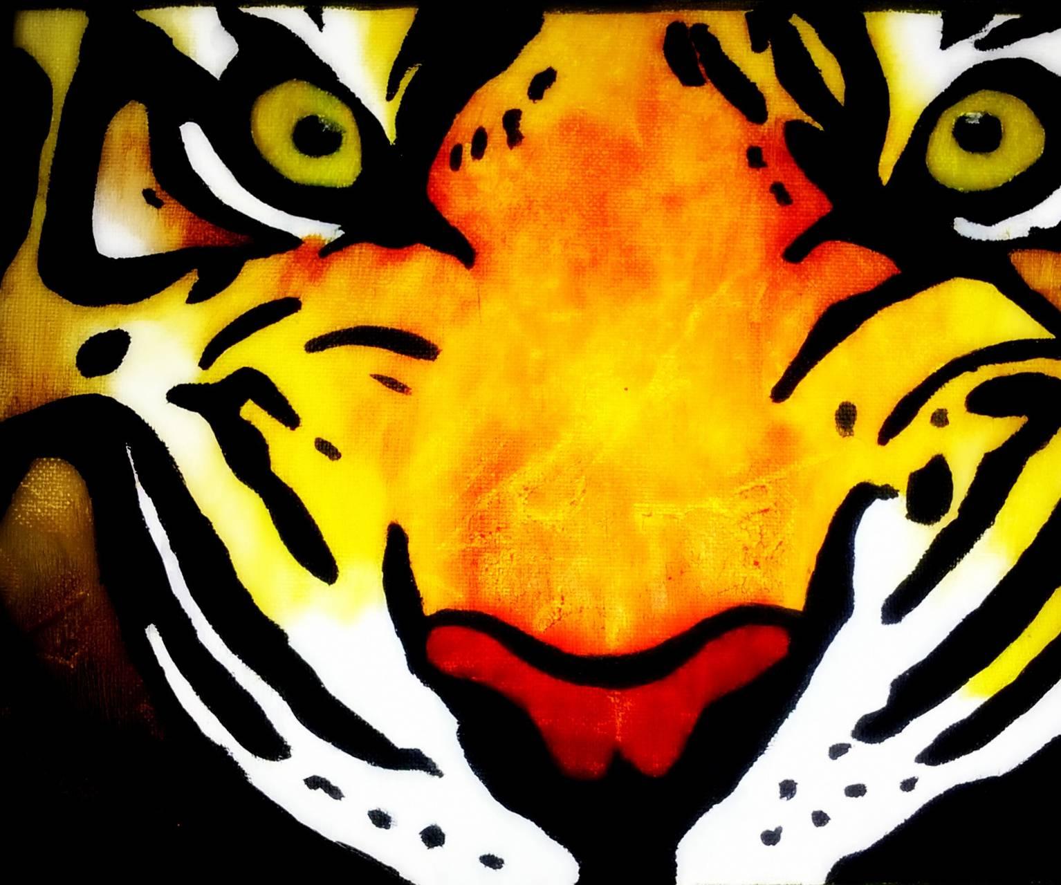 Paint Tiger