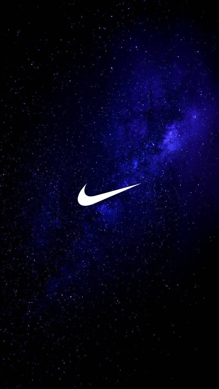 Galaxy blue swoosh