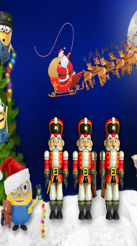 Minion Christmas.Minion Christmas Ringtones And Wallpapers Free By Zedge