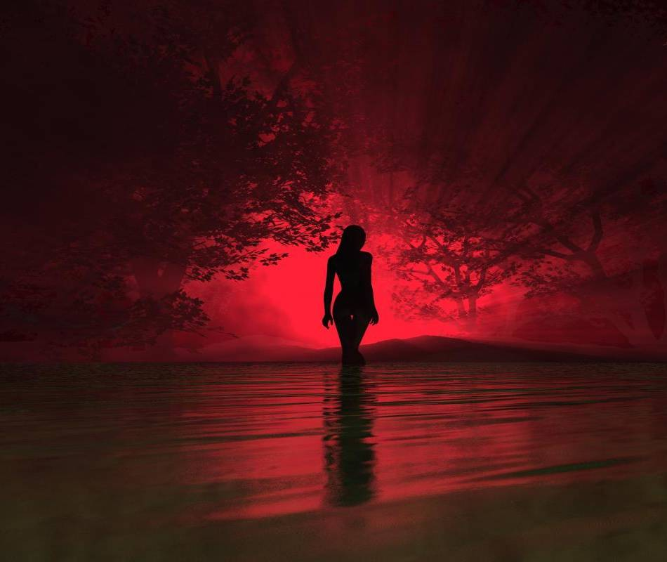 Red Shadow Girl