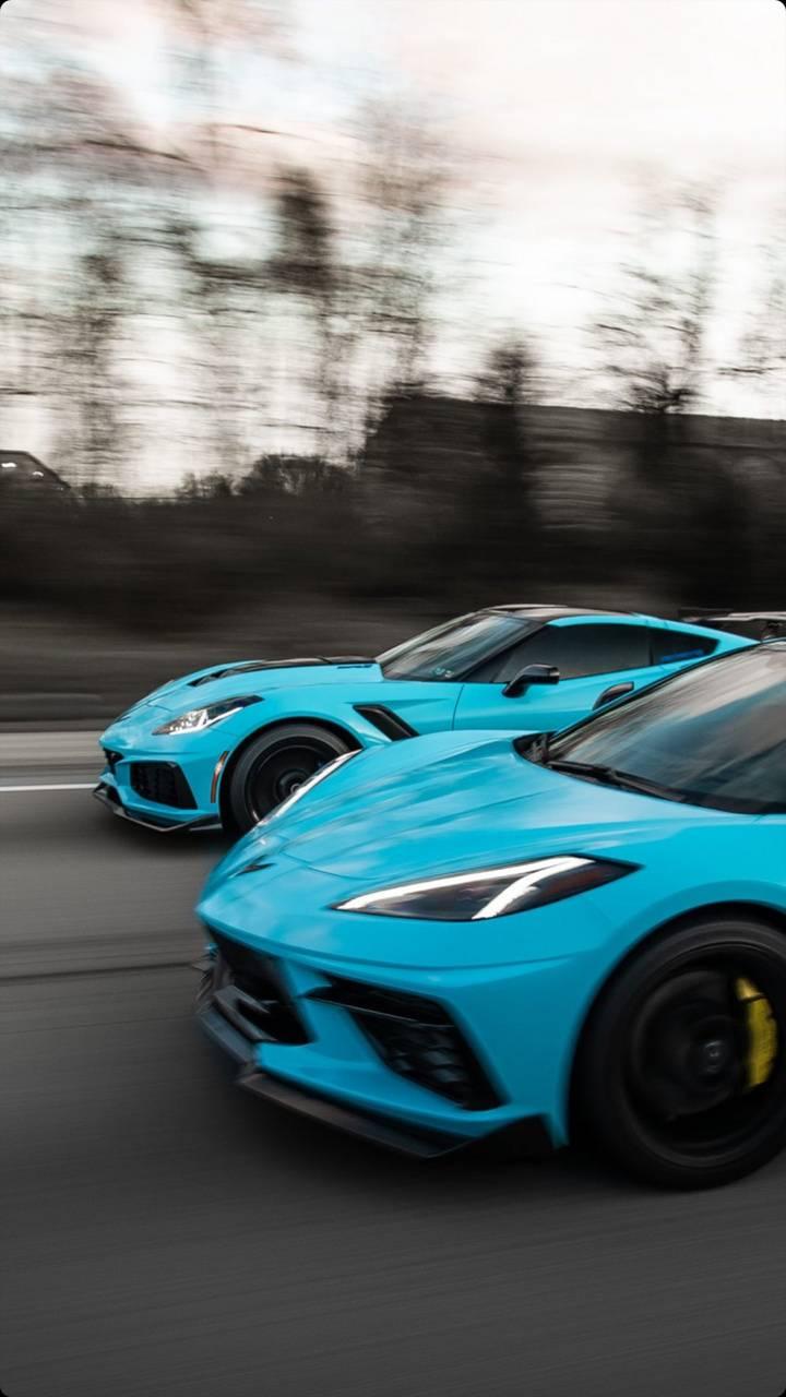 Matching Corvettes