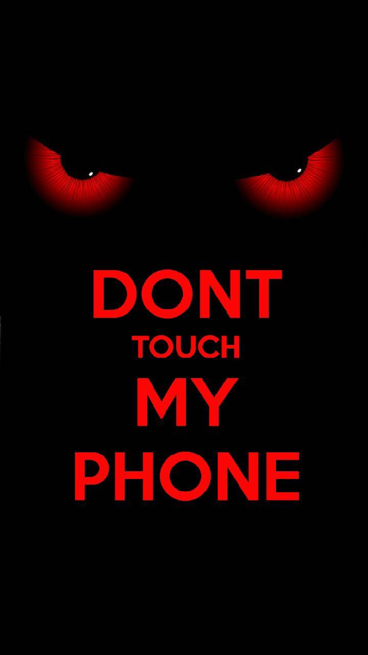 Dont touch it