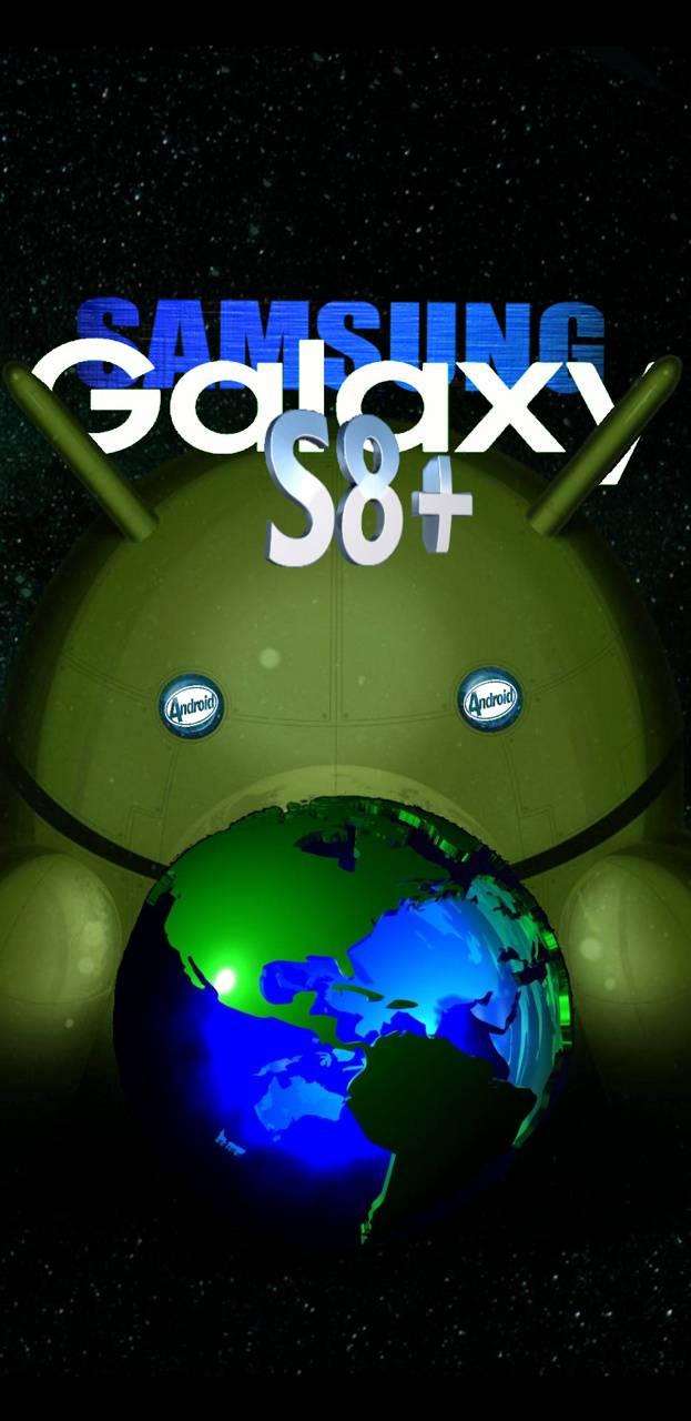 Galaxy S8 plus earth