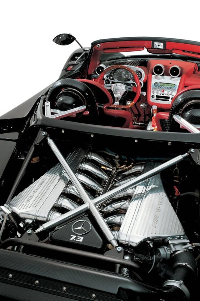 Pagani Zonda Engine Wallpaper by jasem2 - 41 - Free on ZEDGE™