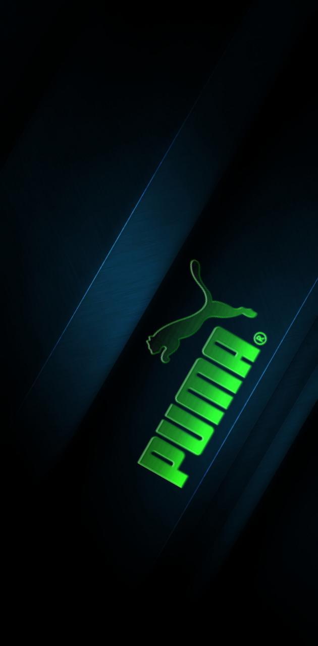 Puma Green Blue Glow
