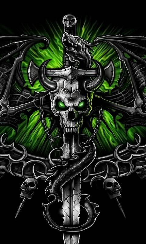 Dragon-skull