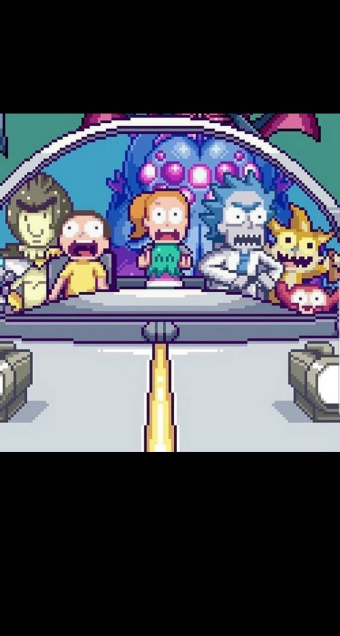 Pixel Rick and Morty
