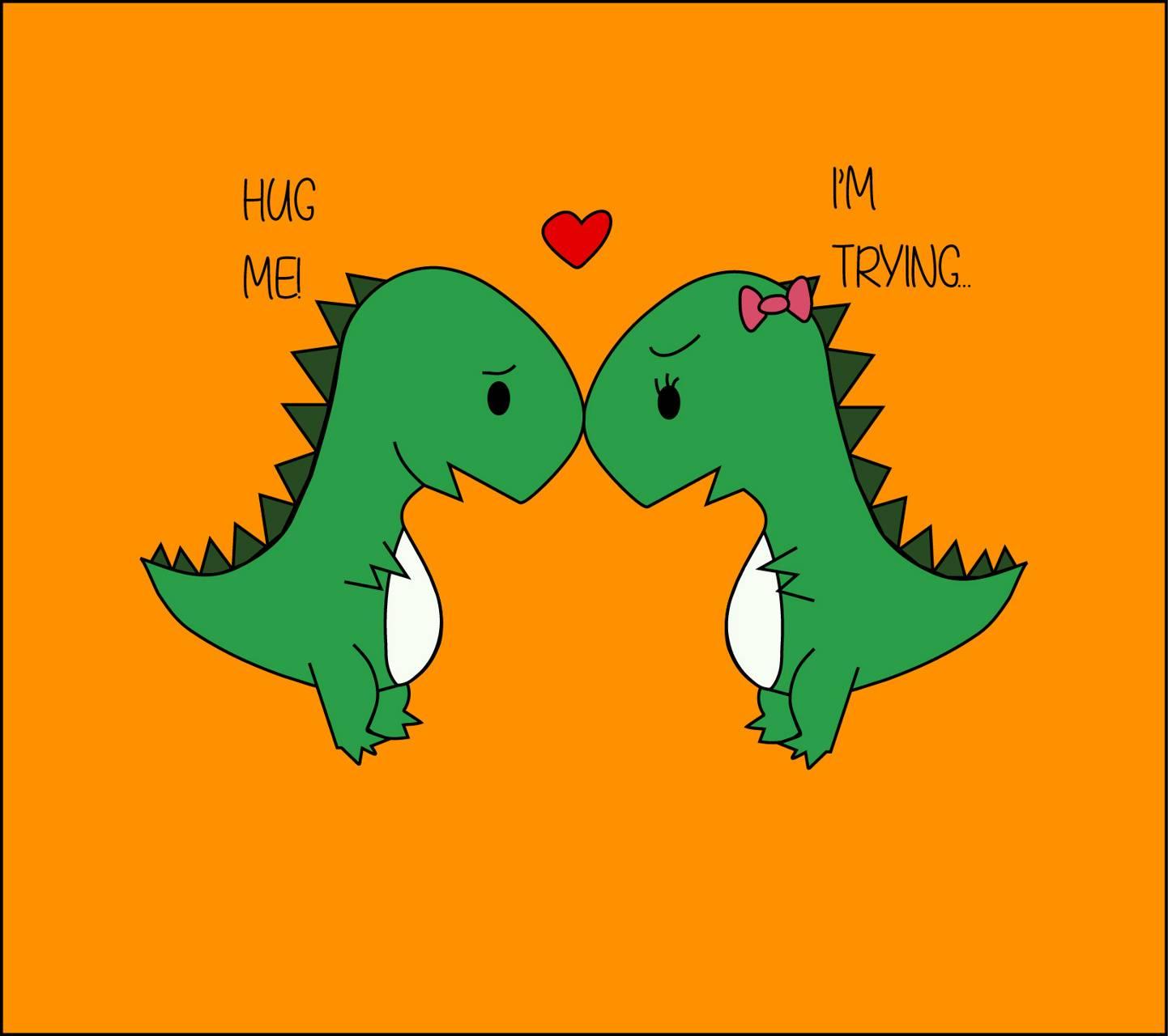 Dino love