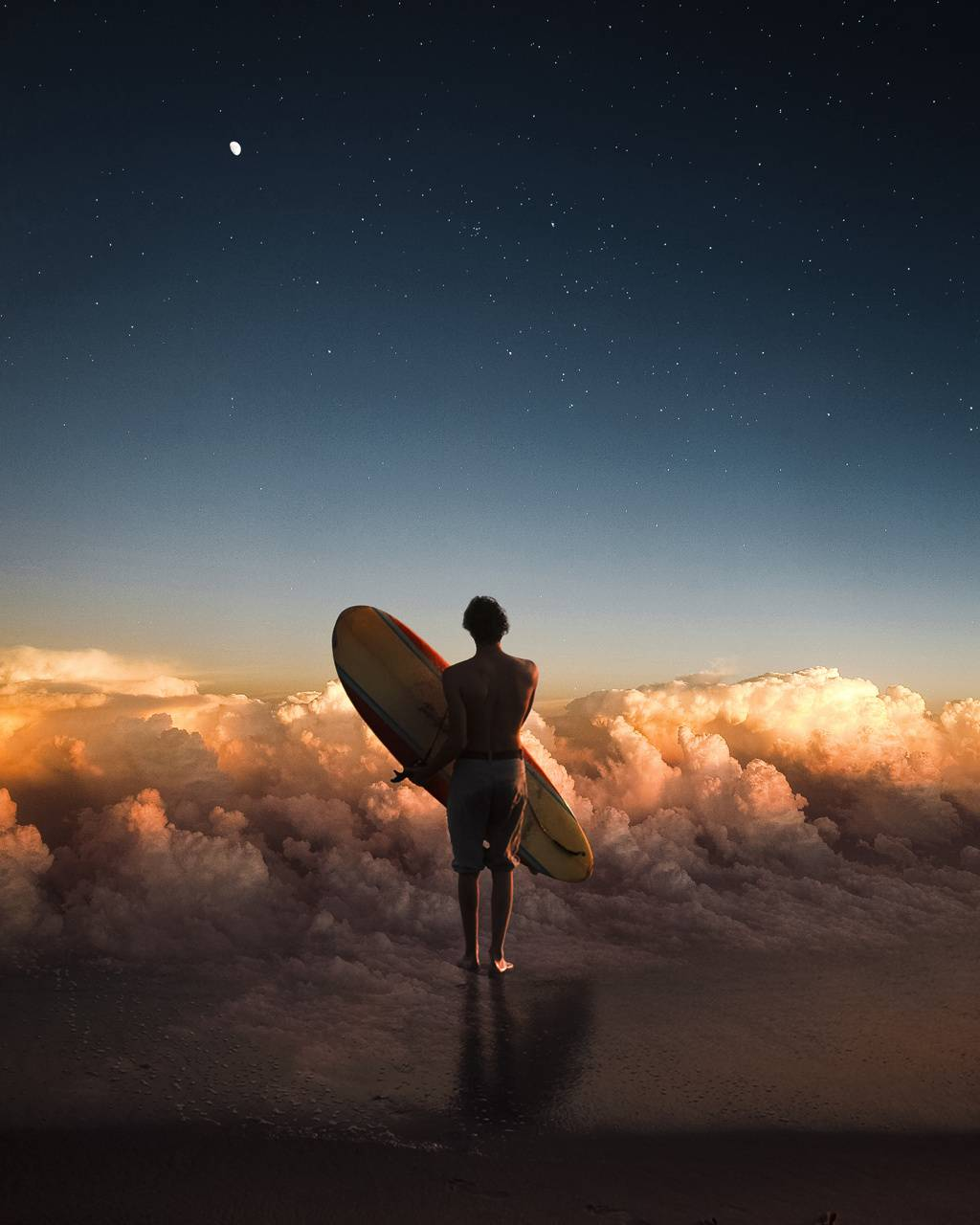 Surfing Clouds