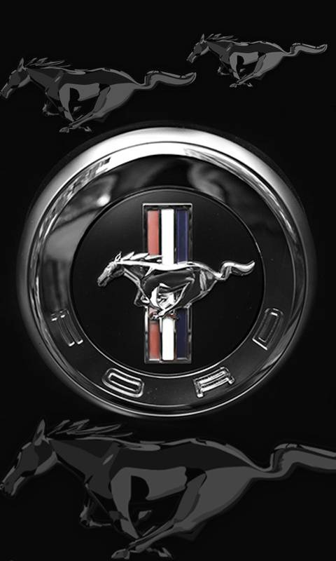 Ford Mustang Badge Wallpaper By Gontu