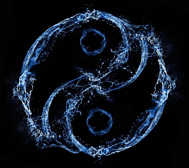 Aqua Yin Yang
