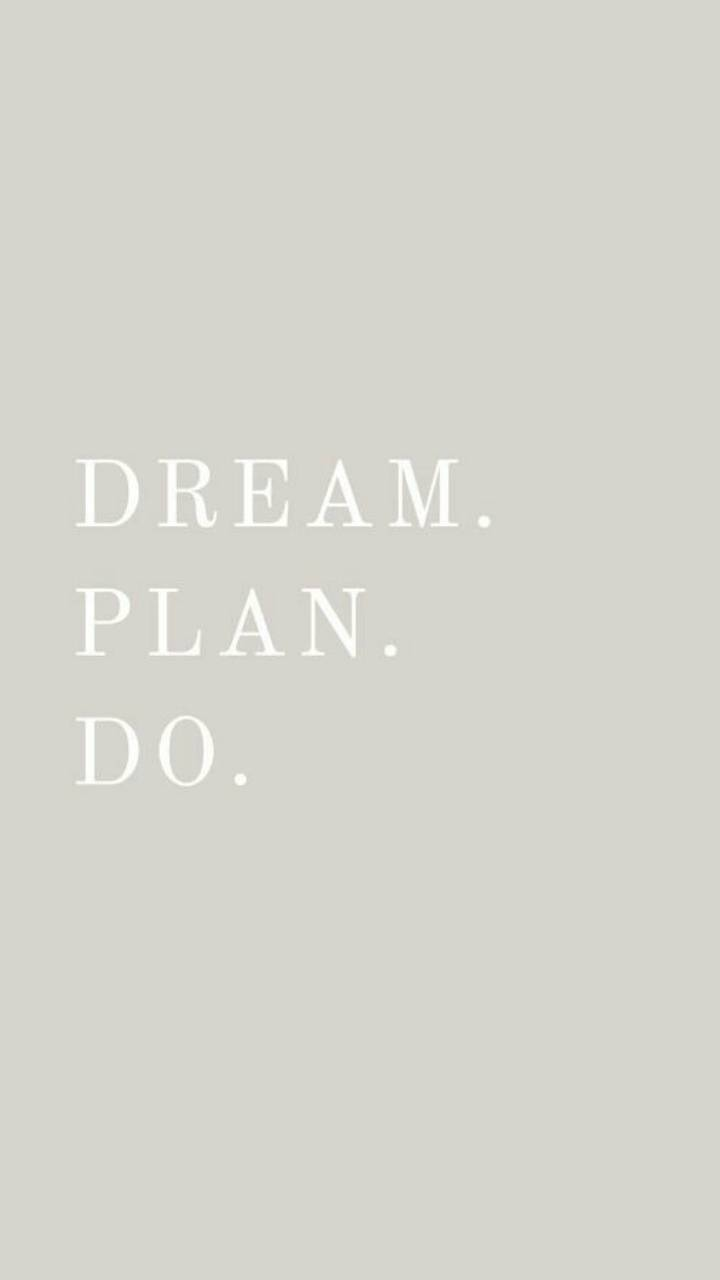 Dream Do Plan