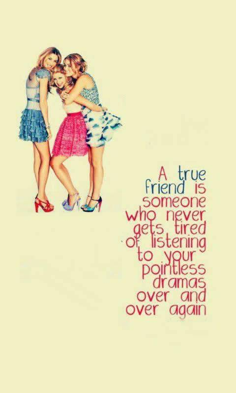 Friendship Quotes Wallpaper By Lady Birdie