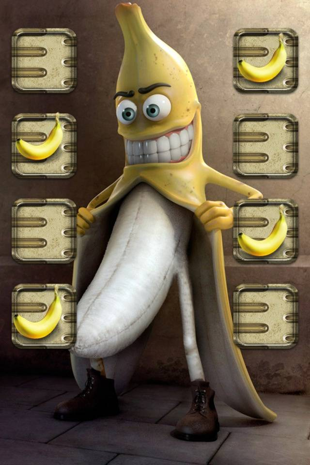 Funny Banana Shelf